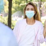 Grundregeln zum Grüßen während der Pandemie
