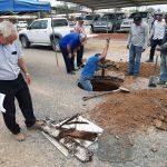 Einen historischen Brunnen im Chaco entdeckt
