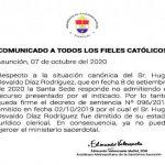 Papst bestätigt Exkommunikation eines Priesters aus Paraguay