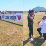 Fallschirmspringen zur Hochzeit