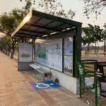 Neues Zeitalter an Bushaltestellen