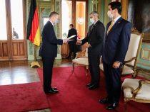 Deutscher Botschafter übergab Beglaubigungsschreiben