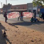 Indigene demonstrieren in Independencia