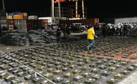 Rekordmenge an Kokain in Containern nach Israel entdeckt