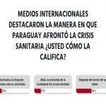 Internationale Medien heben die Maßnahmen der Quarantäne in Paraguay hervor