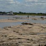 Rio Paraguay 2020: Historischer Niedrigwasserstand am Pegel in Asunción erreicht