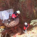Traktorfahrer stirbt bei Unfall in Independencia
