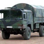 Deutsche Bundeswehr Lkws für das paraguayische Militär