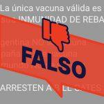 Fake-News: Herdenimmunität als angemessene Maßnahme gegen Covid-19