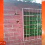 Eine ernste Drohung: Haus einer Frau beschossen