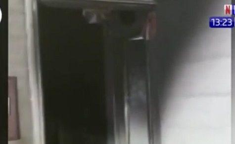 Klimaanlage gerät in Brand