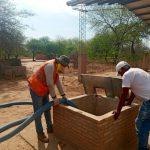 Angesichts der Dürre 22,5 Millionen Liter Trinkwasser verteilt