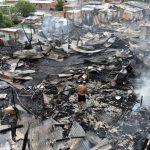 Brand großen Ausmaßes: Wo der Heiligabend Zerstörung brachte