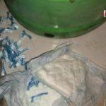 Kokain in Babywindel versteckt