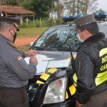 Bei Polizeikontrolle Covid-19-Test verlangt