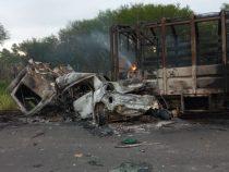 Vier Tote bei schwerem Unfall auf der Ruta Transchaco