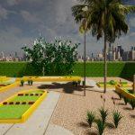 Erster Minigolf-Platz in Paraguay