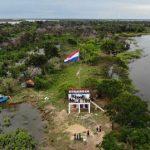 Aussichtspunkt am Zusammenfluss von Paraguay und Paraná eröffnet