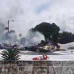 Sieben Tote und ein Schwerverletzter nach Flugzeugabsturz