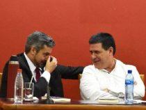 """Mario Abdo: """"In diesem Moment Präsident zu sein ist nicht einfach"""""""
