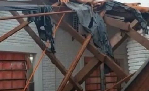 Erst vor kurzem saniert: Dach einer Schule stürzt nach Sturm ein