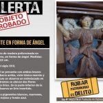 Über 500 Jahre alte Engelsfigur gestohlen