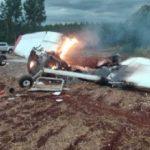 Bei Flugzeugabsturz kommen 2 Personen ums Leben