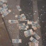 Zu zehnt viel Geld geraubt