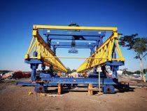Bau der Héroes del Chaco Brücke schreitet zügig voran