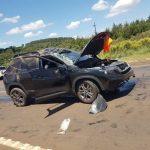 Herabfallende Sojabohnen lösen Unfall aus