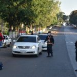 Strenge Kontrollen der Polizei, ohne jedoch Personen festzunehmen