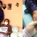 86-Jährige überwindet Covid-19