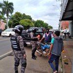 Polizei und Stadtverwaltung gehen gegen informelle Arbeiter vor