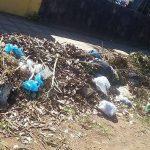 Bürger prangern illegale Müllkippe neben Friedhof an
