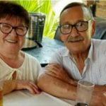 Ein enges Paar, bis in den Tod vereint
