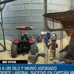 Tödlicher Arbeitsunfall in einem Silo in Itapúa