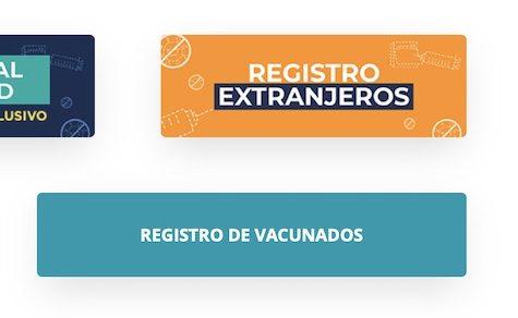 Auch Ausländer können sich für die Impfung registrieren