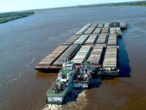 Niedriger Flusspegel wirkt sich auf den Außenhandel aus