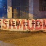 Colorados zeigen Vandalismus gegenüber ihrer Wahlwerbung an