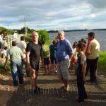 Georg Birbaumer erreicht sein Ziel und schwimmt in 8 Tagen 560 km auf dem Rio Paraguay