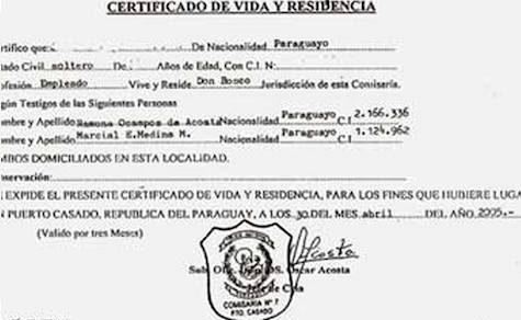 """Was beim Beantragen des """"Vida y Residencia"""" Dokuments zu beachten ist"""