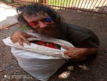Deutscher Obdachloser zeigt große Solidarität