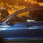 Obdachloser sucht vor Unwetter im Auto Zuflucht