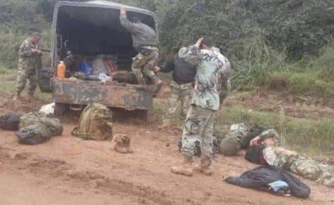 Bombenangriff der EPP: Drei Soldaten getötet
