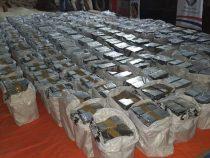 Rekord-Beschlagnahmung von Kokain in Paraguay
