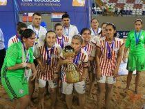 Frauen-Beach Soccer: Zwei Frauen aus Paraguay gehören zu den besten Spielerinnen der Welt