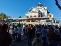 Caacupé: Drei Jungfrauen in der Salzkathedrale vereint