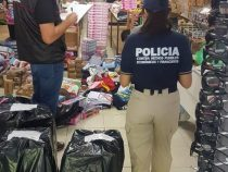 20 Säcke gefälschter Sportbekleidung beschlagnahmt