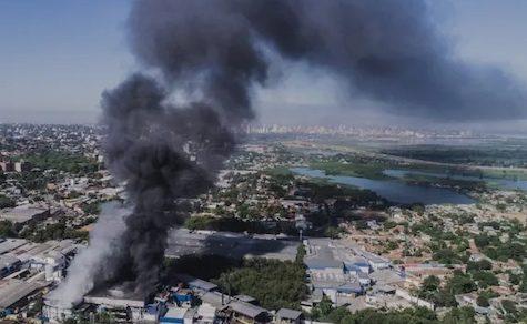Großbrand in Schlachthaus: Keine Angestellten verletzt