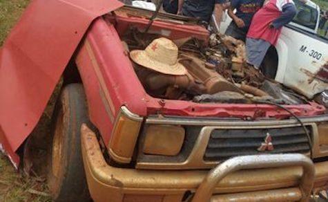 Schrecklicher Unfall in Colonia Independencia